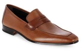 Mezlan Leather Penny Loafers