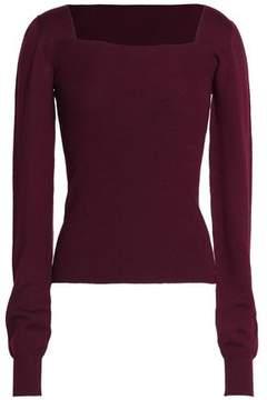 Chalayan Cutout Ribbed Merino Wool Sweater