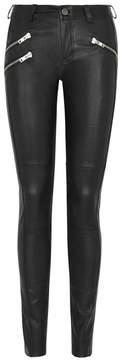 Gestuz Arin Black Leather Trousers