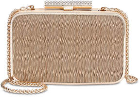 Adrianna Papell Metal Chain Clutch