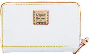 Dooney & Bourke Saffiano Leather Zip Around Wallet - ONE COLOR - STYLE