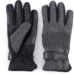 Apt. 9 Men's Wool-Blend Touchscreen Gloves
