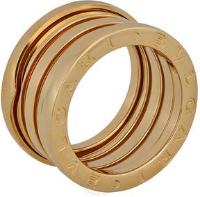 Bvlgari B.zero1 18kt Yellow Gold 4-Band Ring