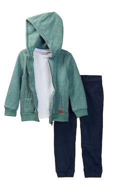7 For All Mankind Hoodie, Tee, & Jogger (Toddler Boys)