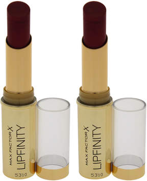 Max Factor So Luxuriant Lipfinity Lipstick - Set of Two