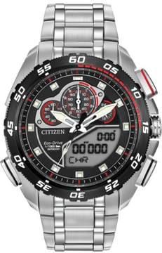 Citizen Promaster Super Sport JW0111-55E Silver/Black Eco-Drive Men's Watch