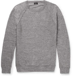 J.Crew Mélange Cotton-Jersey Sweater