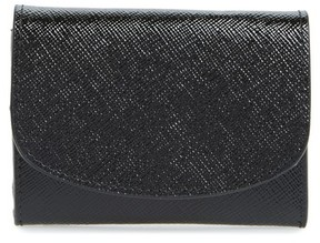 Nordstrom Women's Leather Card Holder - Black