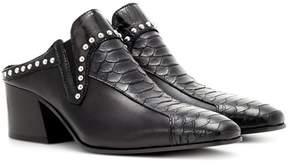 Acne Studios Kamir embellished leather mules
