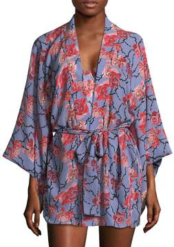 Fleur Du Mal Women's Haori Silk Kimono