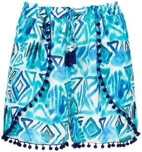 BRIGITTE printed shorts