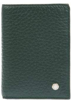 Orciani Men's Green Leather Wallet.