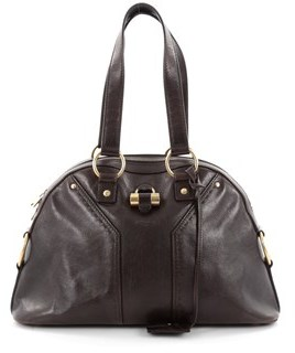 Saint Laurent Pre-owned: Muse Shoulder Bag Leather Medium. - BROWN - STYLE