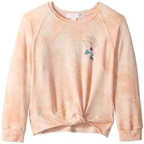 Spiritual Gangster Kids Namaste Flower Novelty Sweatshirt Girl's Sweatshirt