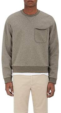 ATM Anthony Thomas Melillo Men's Brushed Cotton-Blend Fleece Sweatshirt