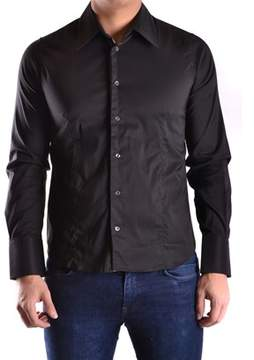 Gazzarrini Men's Black Cotton Shirt.