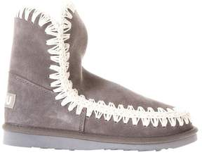 Mou Summer Eskimo Grey Suede Boots