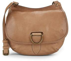 Frye Women's Lucy Leather Crossbody Saddle Bag