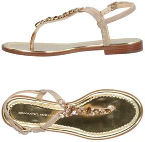 Ermanno Scervino Toe strap sandals