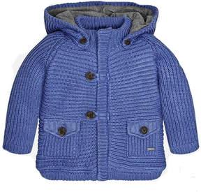 Mayoral Knit Jacket W/hood