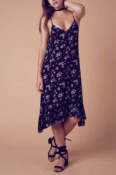Cotton Candy Midi Floral Dress