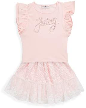 Juicy Couture Little Girl's Two-Piece Gingham Top and Leggings Set