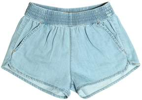 Finger In The Nose Light Cotton Denim Shorts