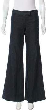 Barbara Bui Flared Mid-Rise Pants