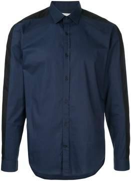Cerruti panelled shirt
