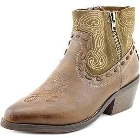 Coolway Bady Round Toe Leather Ankle Boot.