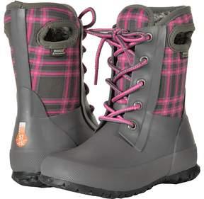 Bogs Amanda Winter Plaid Girls Shoes