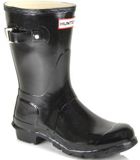 Hunter Original Short Gloss - Rubber Rain Boot