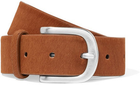 Isabel Marant Tety Calf Hair Belt - Brown