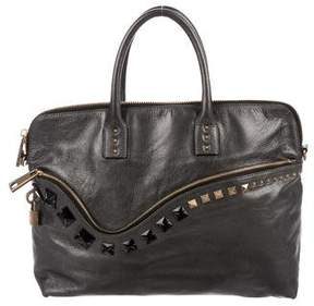 Marc Jacobs Studded Leather Satchel