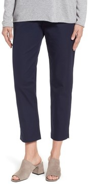 Eileen Fisher Women's Organic Stretch Cotton Twill Ankle Pants