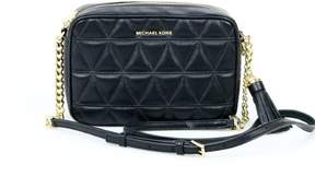 Michael Kors Ginny Medium Black Leather Camera Bag NWT $198 - ONE COLOR - STYLE