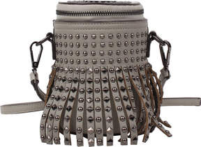 Nicole Lee Ysane Fringe Studded Barrel Cross Body Bag (Women's)