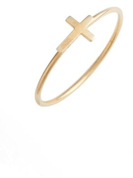 Bony Levy Women's Cross Stacking Ring (Nordstrom Exclusive)