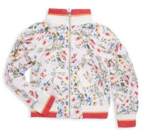 Urban Republic Little Girl's Graphic Print Zip Jacket