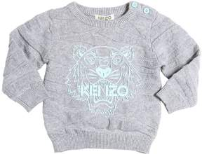 Kenzo Tiger Cotton & Wool Sweater