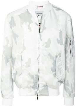 Rossignol camouflage print bomber jacket