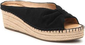 Franco Sarto Peach Wedge Sandal - Women's