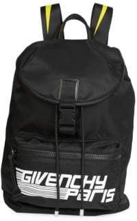 Givenchy Logo Graphic Backpack