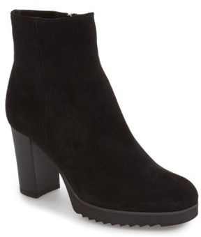 La Canadienne Women's 'Myranda' Waterproof Block Heel Bootie