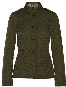 Burberry - Quilted Shell Jacket - Army green