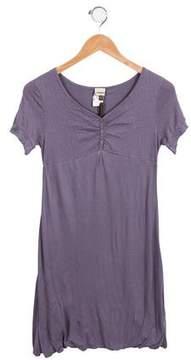 Ikks Girls' Knit Short Sleeve Dress w/ Tags