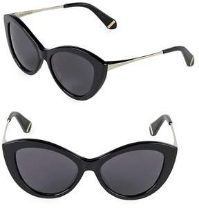 Zac Posen Women's Shelley 53MM Butterfly Sunglasses