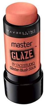 Maybelline Face Studio Master Glaze Glisten Blush Stick, Coral Sheen.