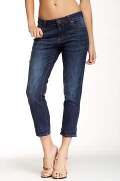 Bardot Swat Fame Skinny Crop Boyfriend Jeans