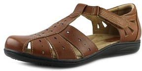 Earth Origins Laurie W Round Toe Leather Mary Janes.